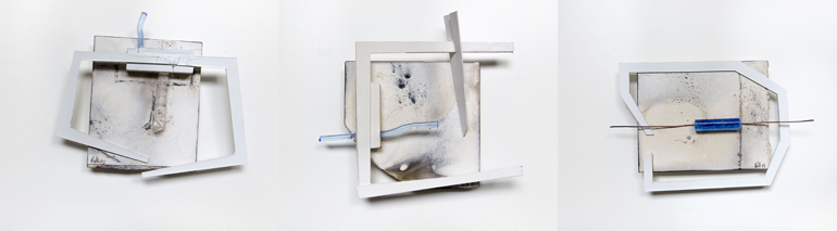 2015, tecnica mista su cartoncino,  cm. misure varie piccole