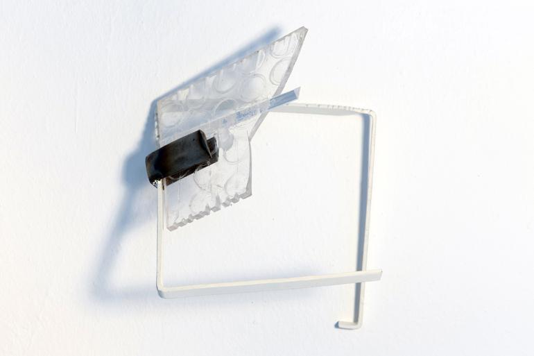 2013/14, ferro e acciaio inox verniciati, plexiglas trattato/colorato,  cm. misure varie